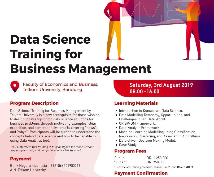 Data Science Training for Business Management - Telkom