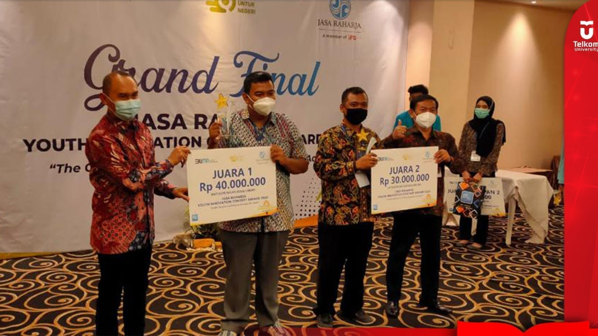 Brainstat Jadi Juara Youth Innovation Jasa Raharja